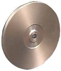 Couronne aluminium spéciale tous poils double face utilisation à poudre (Lapidaire ARGEAD)