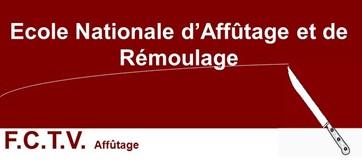 Logo Ecole Nationale d Affutage et de Remoulage